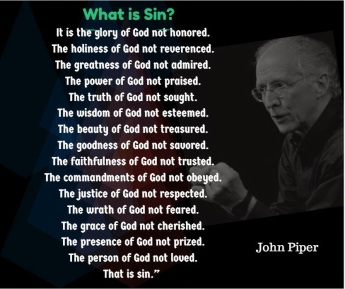 john piper_what is sin